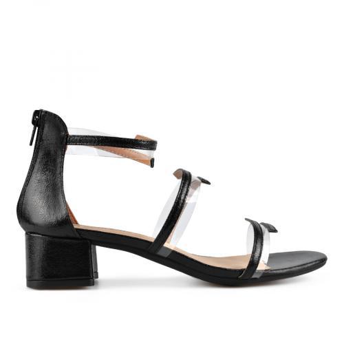 дамски елегантни сандали черни 0137625