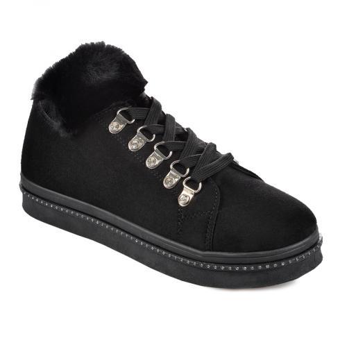 дамски ежедневни обувки черни 0135466