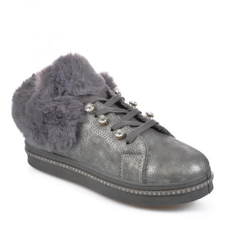 дамски ежедневни обувки сиви 0135459