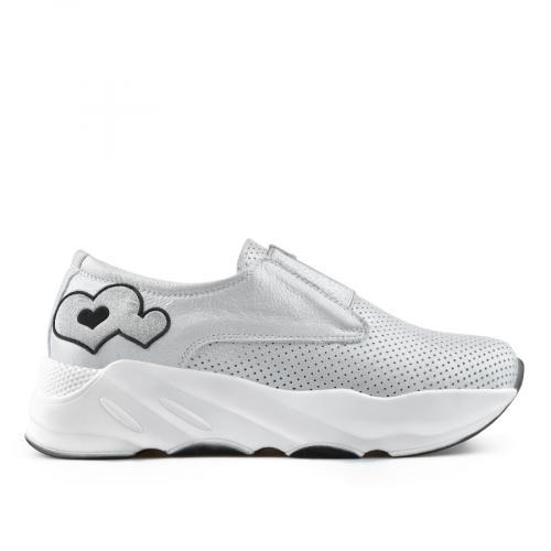 дамски ежедневни обувки сребристи 0138440