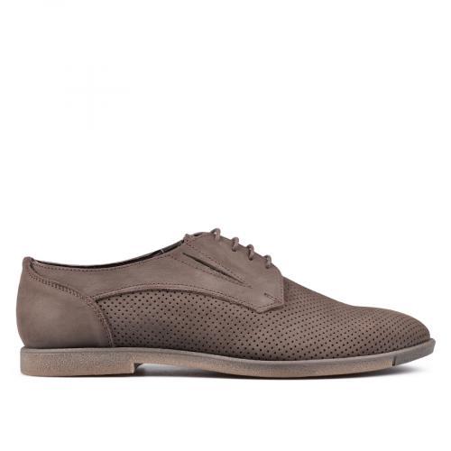мъжки ежедневни обувки кафяви 0131292