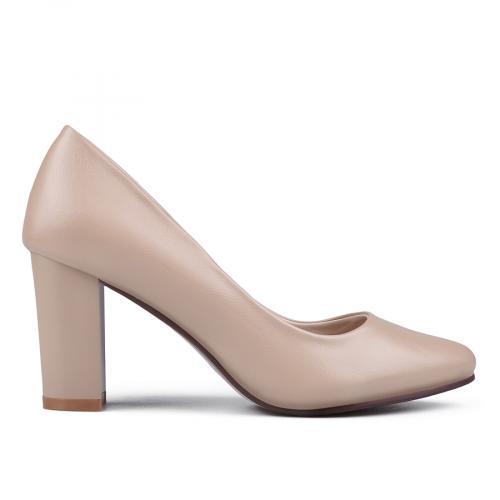 дамски елегантни обувки бежови 0133126
