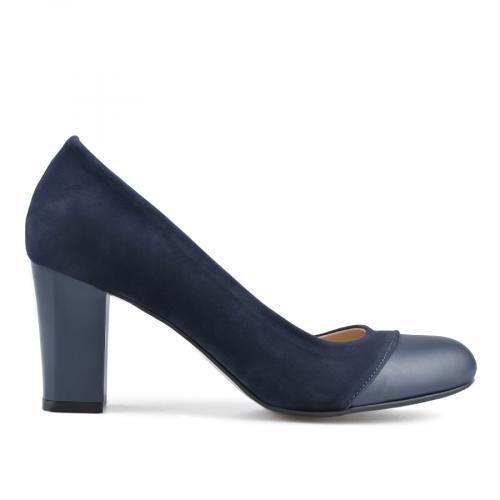 дамски елегантни обувки сини 0138337
