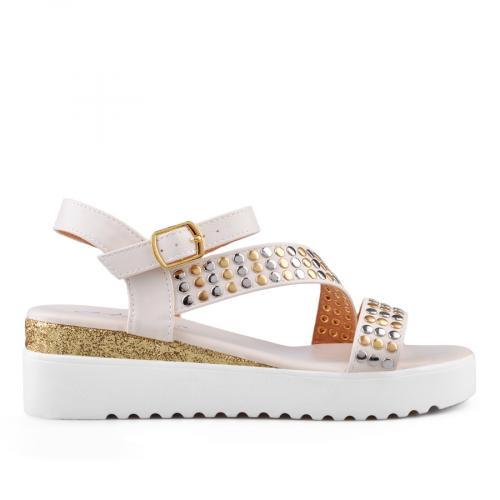 Дамски сандали с платформи 0134532