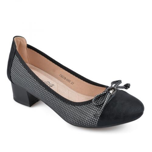 дамски елегантни обувки черни 0137675