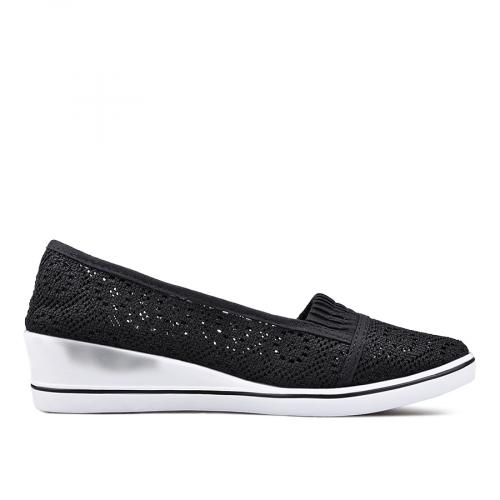 дамски ежедневни обувки черни 0135069