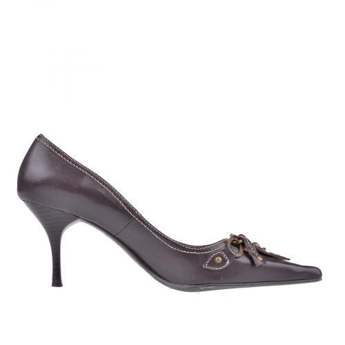 дамски елегантни обувки кафяви 0101444