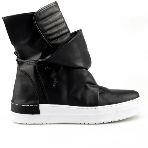 мъжки ежедневни обувки черни 0124827