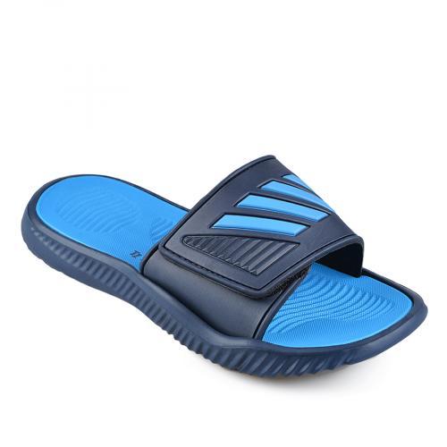 мъжки чехли сини 0137276