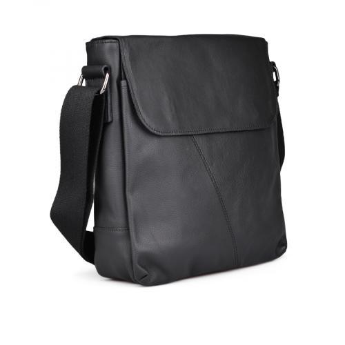 мъжка ежедневна чанта черна 0132445
