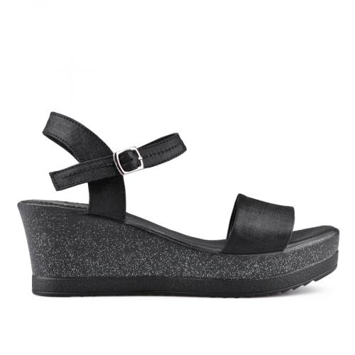 дамски ежедневни сандали черни 0135028
