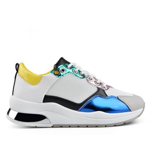дамски ежедневни обувки бели 0136650