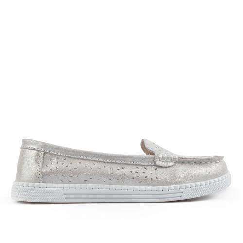дамски ежедневни обувки сребристи 0137241