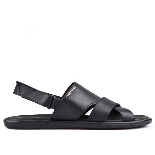 мъжки сандали черни 0132049