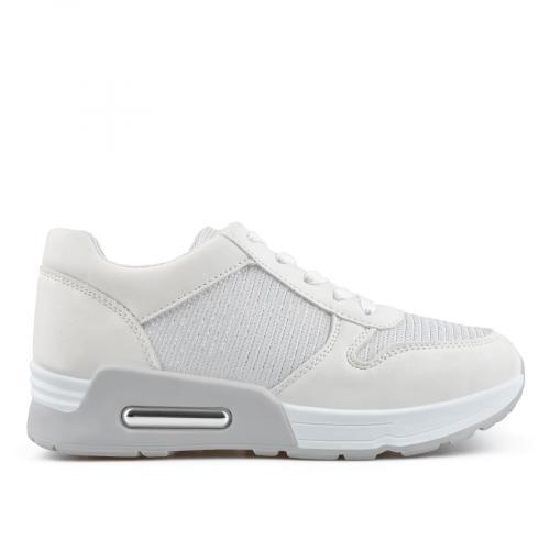 дамски ежедневни обувки бели 0136666