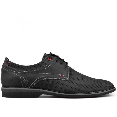 мъжки ежедневни обувки черни 0131110