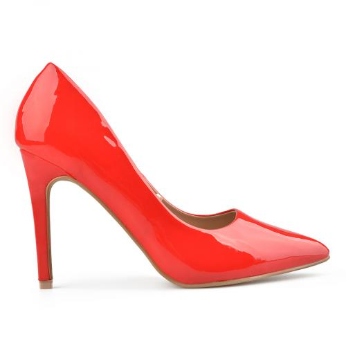 дамски елегантни обувки червени 0138152