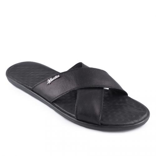 мъжки чехли черни 0128379