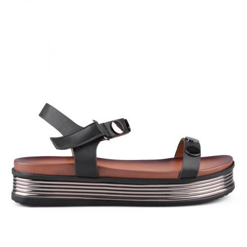 Дамски сандали с платформи 0133702