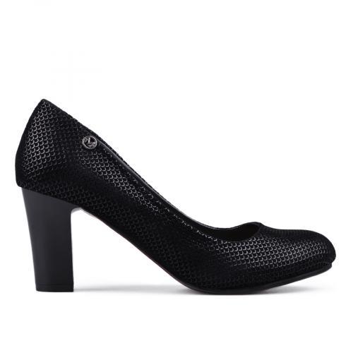 дамски елегантни обувки черни 0133114