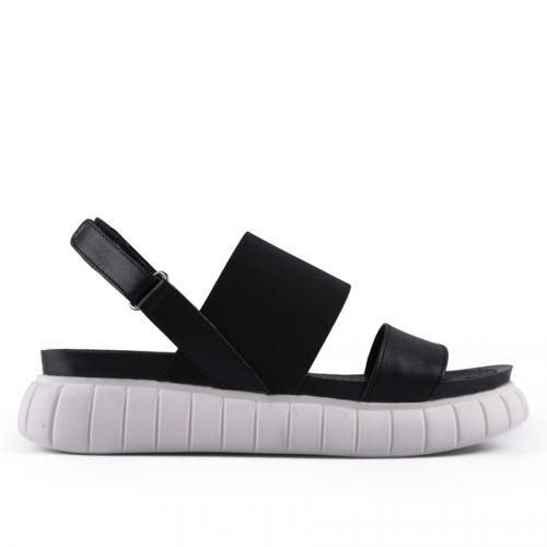 дамски ежедневни сандали черни 0127734