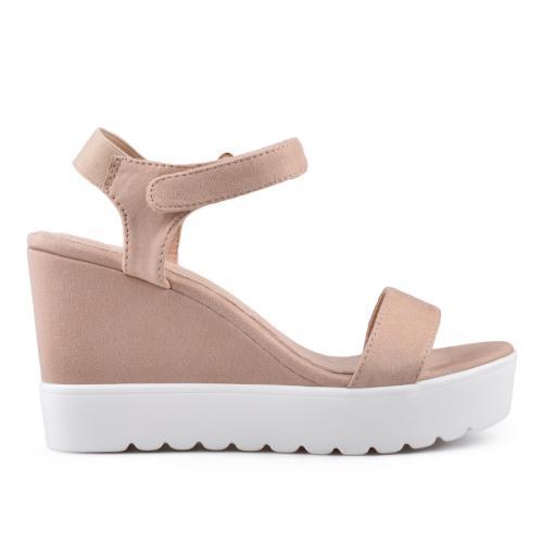 Дамски сандали с платформи 0134353