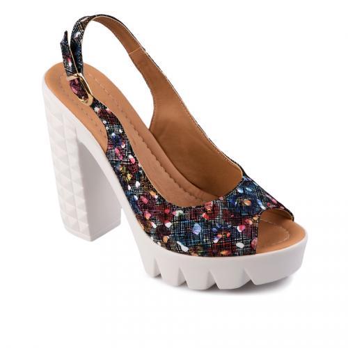 дамски ежедневни сандали черни  0128474