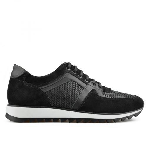мъжки ежедневни обувки черни 0138306