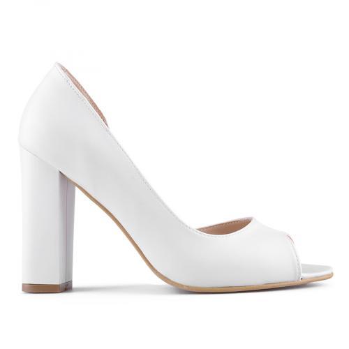 дамски сандали бели 0127688