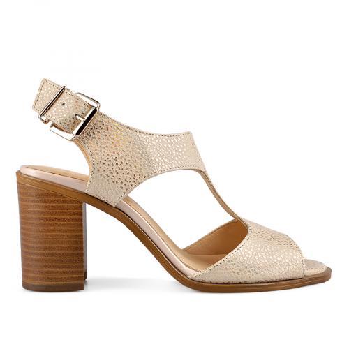 дамски елегантни сандали златисти 0138477