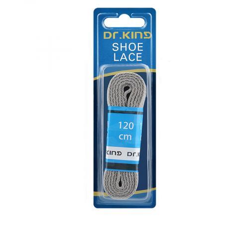 връзки за обувки сиви 120см 0136294