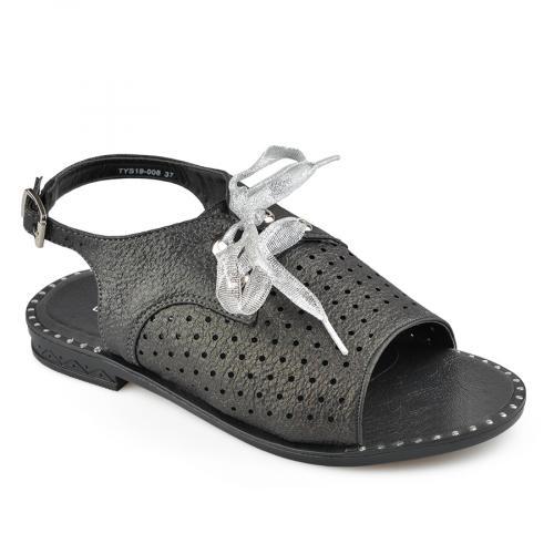 дамски ежедневни сандали черни 0136971