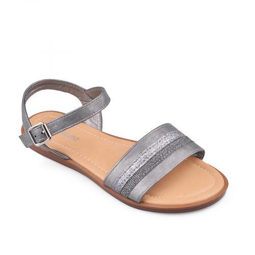 дамски ежедневни сандали сиви 0134455
