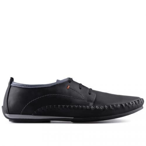 мъжки ежедневни обувки черни 0127514