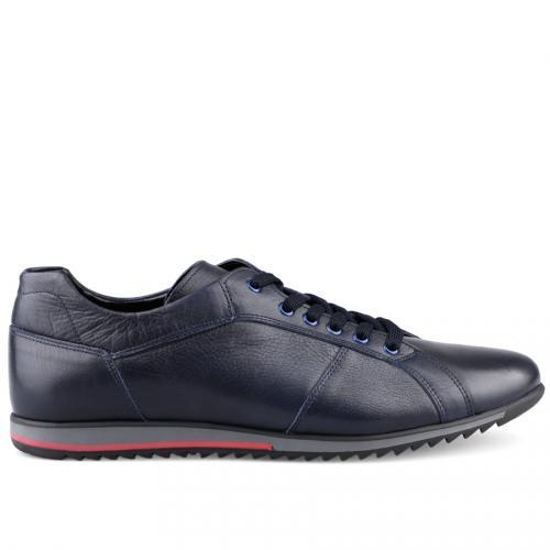 мъжки ежедневни обувки сини 0125890