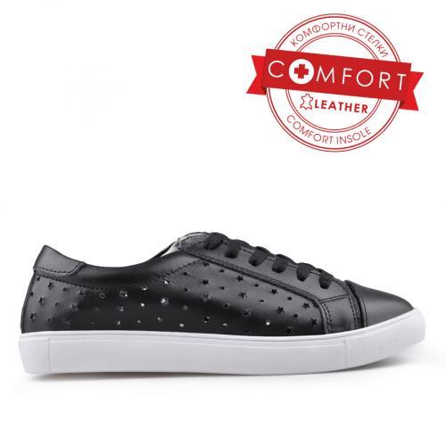 дамски ежедневни обувки черни 0133428