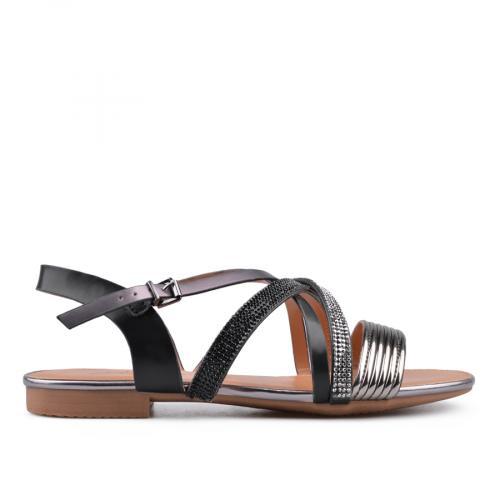 дамски ежедневни сандали черни 0134466