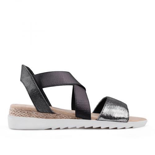 дамски ежедневни сандали черни 0134450