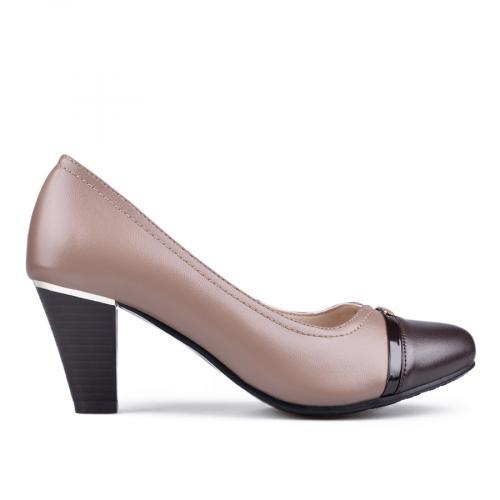 дамски елегантни обувки бежови 0133109