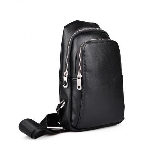 мъжка ежедневна чанта черна 0132452