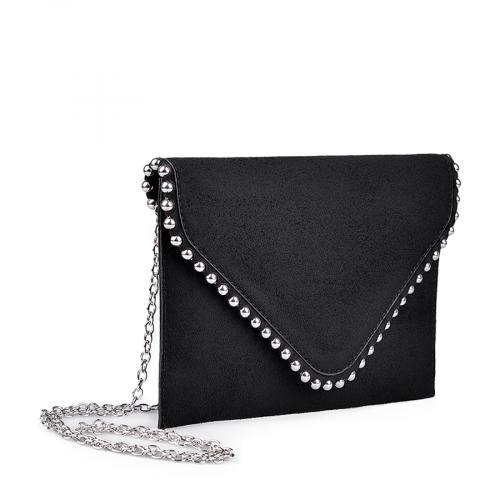 дамска елегантна чанта черна 0134367