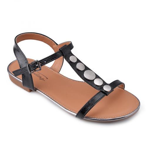дамски ежедневни сандали черни 0134464