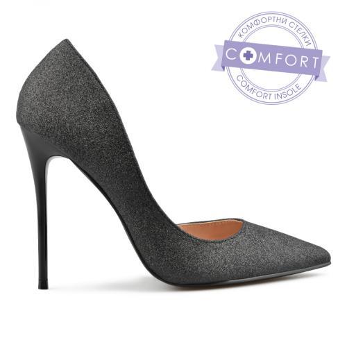 дамски елегантни обувки черни 0137446