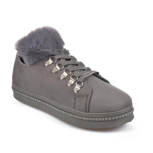 дамски ежедневни обувки сиви 0135467