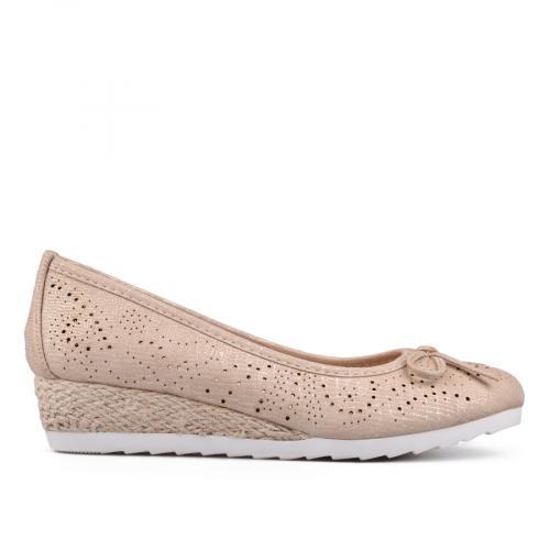 дамски ежедневни обувки златисти 0130135