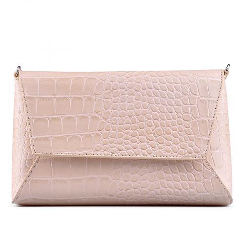 дамска елегантна чанта бежова 0129249