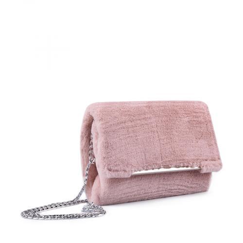 дамска елегантна чанта розова 0134401