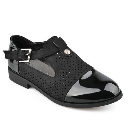 дамски ежедневни обувки черни 0137830