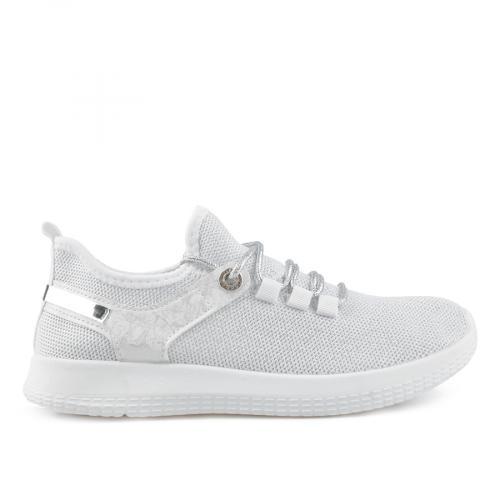 дамски ежедневни обувки бели 0136870