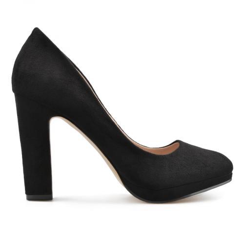 дамски елегантни обувки черни 0138085